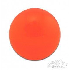 Orange Acrylic - 90 mm Props Juggling & Spinning