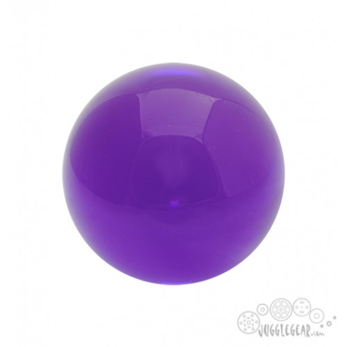 Purple Acrylic - 76 mm Props Juggling & Spinning