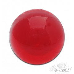 Ruby Red Acrylic - 90 mm Props Juggling & Spinning