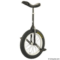 "19"" Impact Gravity Unicycle - 32 mm - Black Trials & Street"