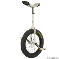 "19"" Impact Gravity Unicycle - White  Trials & Street"