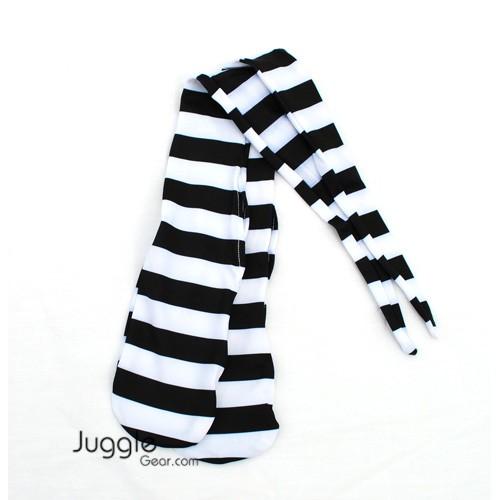 Zebra Strip Poi Socks