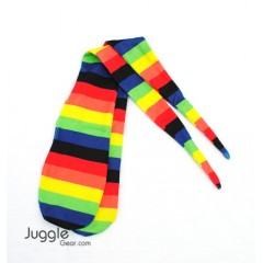 Rainbow Poi Socks Props Juggling & Spinning