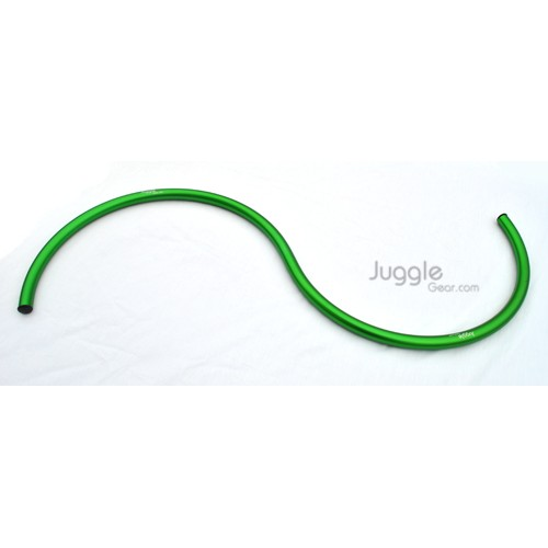 Alum S - Staff - Anodized Green Props Juggling & Spinning