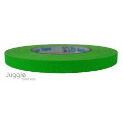Gaffer Tape 1/2 inch - Fluor Green