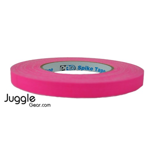 Gaffer Tape 1/2 inch - Fluor Pink
