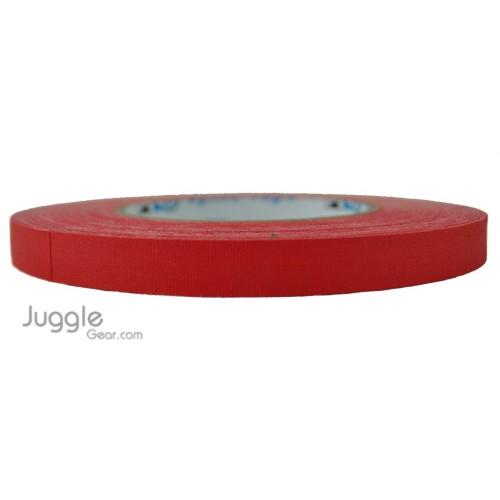 Gaffer Tape 1/2 inch - Red