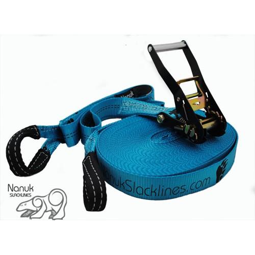 Nanuk Classic slackline - 26m Blue