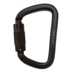 Linkk2 D Lock Carabiner (ANSI) Aerial Hardware and Supplies