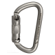rockD Stainless Steel Carabiner - auto locking Aerial Hardware and Supplies