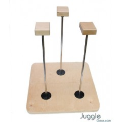Hand Stand triple Canes (1 x Rotational) - Pro - 50 cm tall Acrobatic
