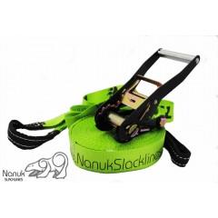 Nanuk Classic slackline - 26m Green Balance