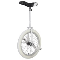 "20"" Nimbus Eclipse Unicycle - Silver Free style"