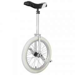 "20"" Nimbus Eclipse Unicycle - Silver"