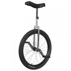 "24"" NIMBUS II UNICYCLE - BLACK/CHROME Learner"
