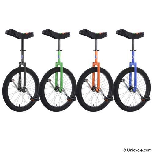 "20"" Club Freestyle Unicycle - New Saddle Learner"