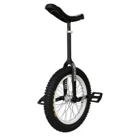 "19"" Impact 'Gravity'  Trials Unicycle - Black v1 - 2012 Trials & Street"