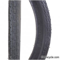 "Unicycle Tire 16"" x 1.75 Tires, Tubes, Rim strip"
