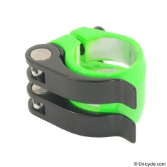 Nimbus Double Quick Clamp 28.6mm - Green Seat Post Clamps