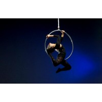 "Aerial Hoop Solid Steel 34"", 36"" or 39"" Aerial"