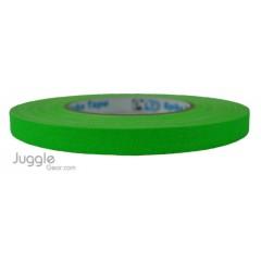 Gaffer Tape 1 inch - Fluor Green Hula Hoops