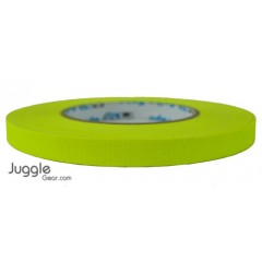 Gaffer Tape 1 inch - Fluor Yellow Hula Hoops