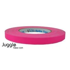 Gaffer Tape 1 inch - Fluor Pink Hula Hoops
