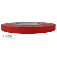 Gaffer Tape 1/4 inch - Red Hula Hoops