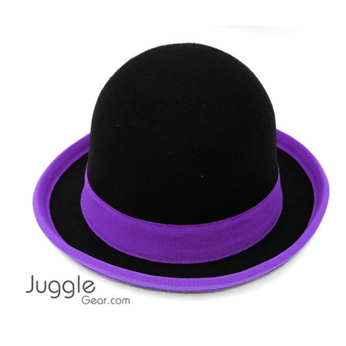 Nils Poll Round Manipulator Hats - Black/purple Props Juggling & Spinning