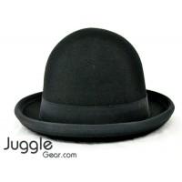 Nils Poll Round Manipulator Hats - Black/Black Props Juggling & Spinning