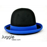 Nils Poll Round Manipulator Hats - Black/Blue Props Juggling & Spinning
