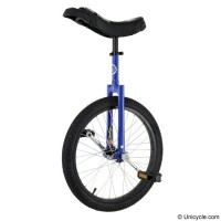 "20"" Club Freestyle Unicycle - Blue Learner"