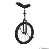 "20"" Club Freestyle Unicycle - Black Learner"