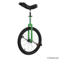 "20"" Club Freestyle Unicycle - Green Learner"