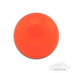Orange Acrylic - 76 mm Props Juggling & Spinning