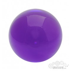 Purple Acrylic - 90 mm Props Juggling & Spinning