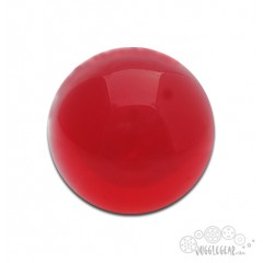 Ruby Red Acrylic - 76 mm Props Juggling & Spinning
