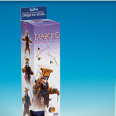 Cirque du Soleil Diabolo Props Juggling & Spinning