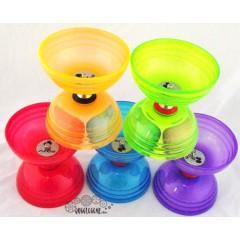Sundia Shining Triple Bearing Diabolo Props Juggling & Spinning