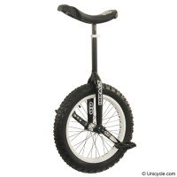 "19"" Impact 'Gravity'  Trials Unicycle - Black v2 -2012 Trials & Street"