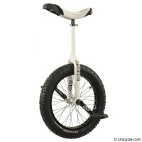 "19"" Impact 'Gravity' Trials Unicycle - White 2012 Trials & Street"