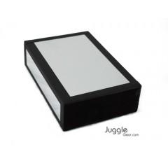 JG Cigar Box - Silver Sparkle Props Juggling & Spinning