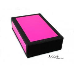 JG Cigar Box - Neon Pink Props Juggling & Spinning
