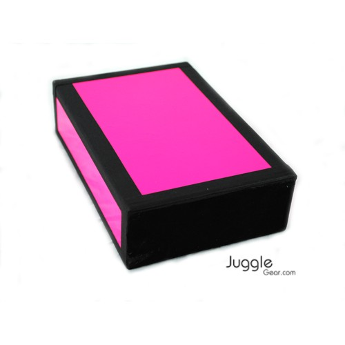 JG Cigar Box - Neon Pink Props Juggling & Spinning