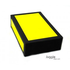 JG Cigar Box - Neon Yellow Props Juggling & Spinning