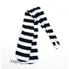 Zebra Strip Poi Socks Props Juggling & Spinning