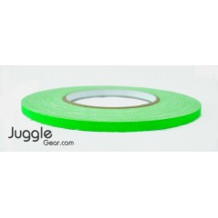Gaffer Tape 1/4 inch - Flo Green Hula Hoops