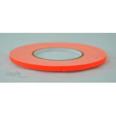 Gaffer Tape 1/4 inch - Flo Orange Hula Hoops