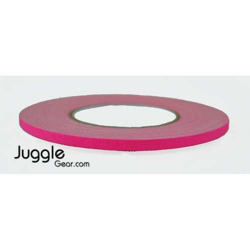 Gaffer Tape 1/4 inch - Flo Pink Hula Hoops