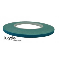 Gaffer Tape 1/4 inch - Teal Hula Hoops